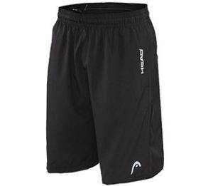 Head Break Point Black Shorts