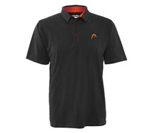 Head Dry-Fit  Class Act Black Polo Shirt