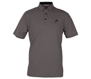 Head Dry-Fit  Class Act Grey Polo Shirt