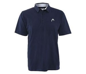 Head Dry-Fit  Class Act Navy Polo Shirt