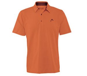 Head Dry-Fit  Class Act Orange Polo Shirt