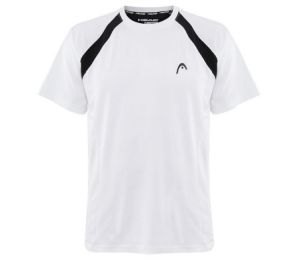 Head White Dry-Fit T-Shirt