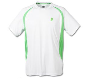 Prince Crew White/Green Shirt (3M100-132)