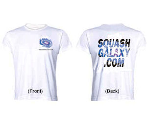 Squash Galaxy White T-Shirt