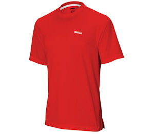 Wilson Red Dry-Fit Crew Shirt