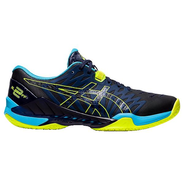 ASICS Blast FF 2 Men's Shoe (Peacoat/Safety Yellow) (1071A044.400)