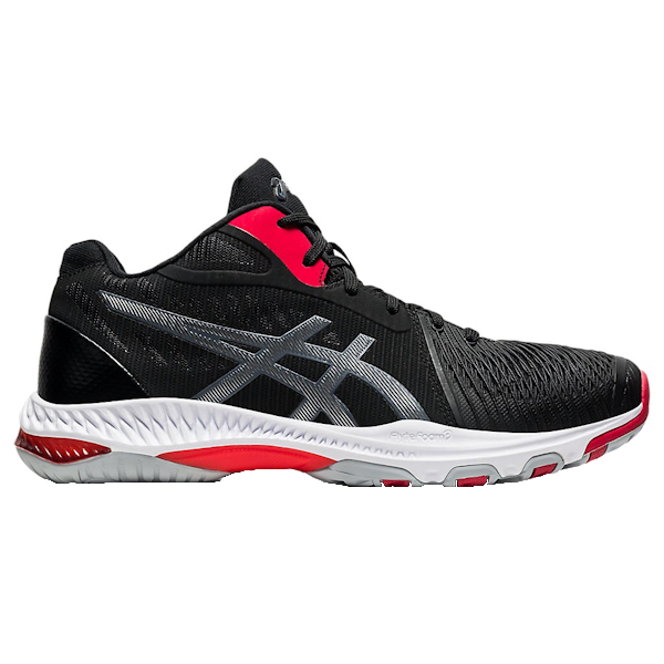 ASICS NetBurner Ballistic FF MT (MID) 2 Men's Shoe (Black/Carrier Grey) (1051A042.001)