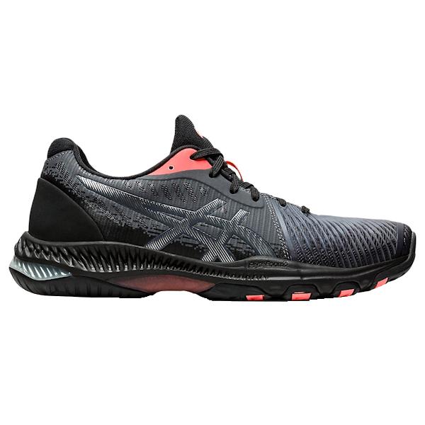 ASICS Netburner Ballistic FF 2 L.E. Women's Shoe (Black/Sunrise Red) (1052A050.010)