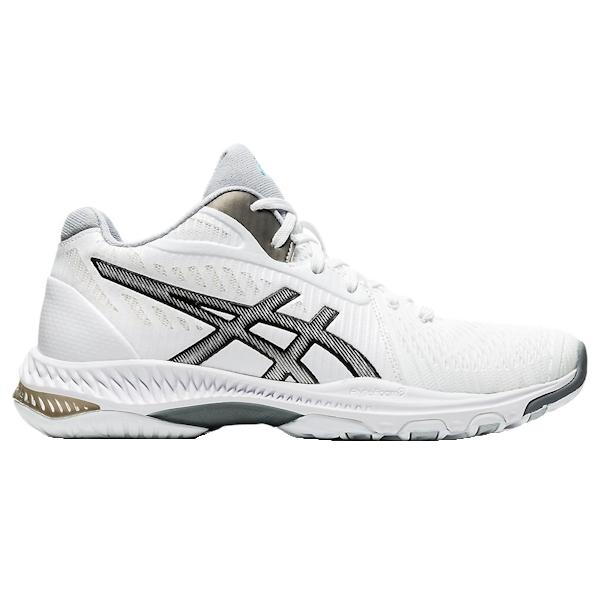 ASICS Netburner Ballistic FF MT (MID) 2 Women's Shoe (White/Black) (1052A034.100)