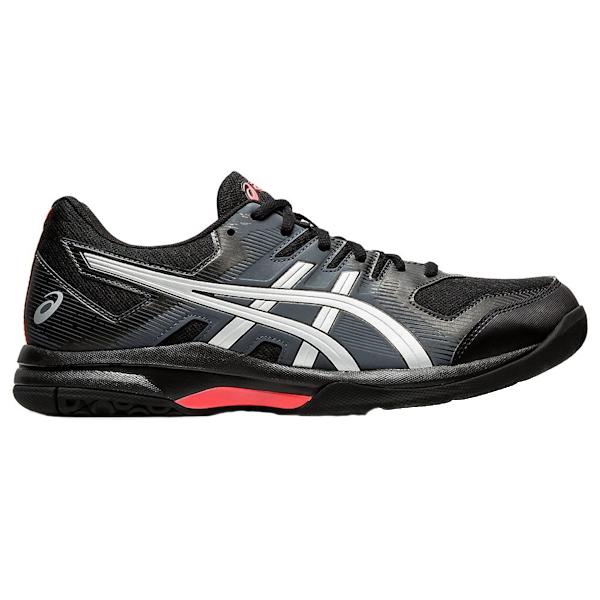 ASICS Gel-Rocket 9 Men's Squash Shoes (1071A030.010) (Black/Sunrise Red)