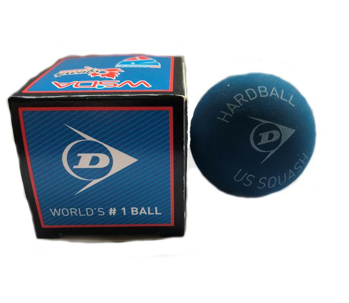 Dunlop (Hard Ball) (Wide Court) Squash Ball (1-Ball) (P802206)