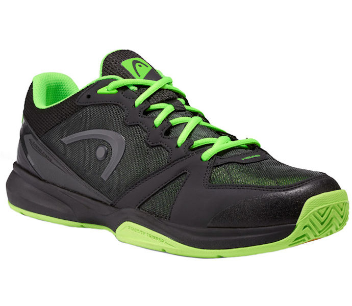 Head Revolt Low Raven/Neon Green Shoe (273709)