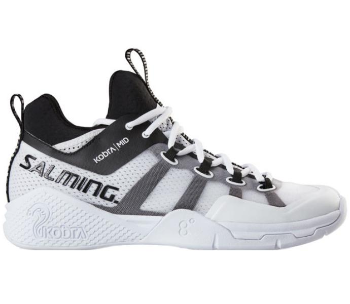 Salming 2019-2020 Men's Kobra Mid 2 White/Black Shoe (1239077-0701)