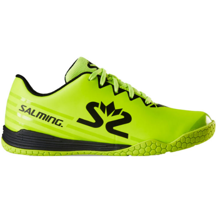 Salming 2019-2020 Spark Kid (Safety Yellow/Black) (1239100-1901)