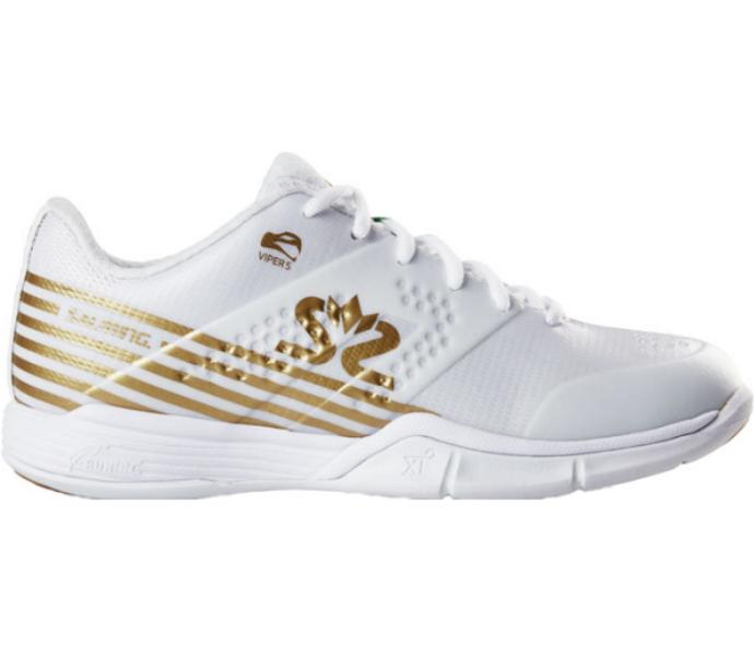 Salming 2019-2020 Women's Viper 5 White/Gold (1239075-0722)