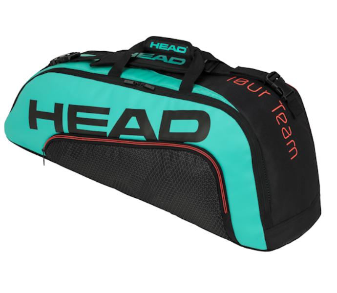 Head 2020 Tour Team 6R Combi (Black/Teal) (283150BKTE)
