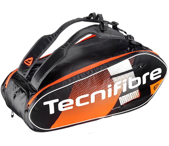 Tecnifibre Air Endurance 9R Squash Bag (Orange) (40AIEN9R20)