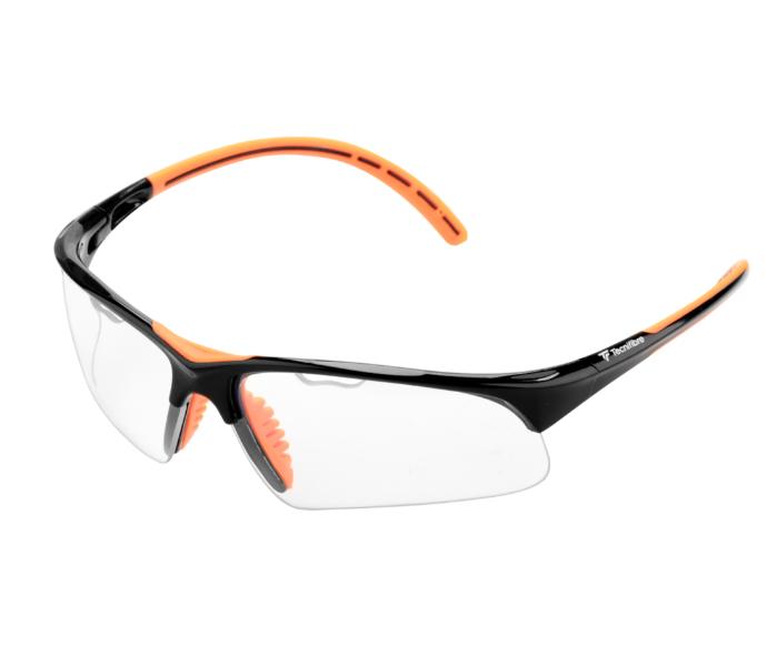 Tecnifibre Absolute Squash Eyewear (Black/Orange)