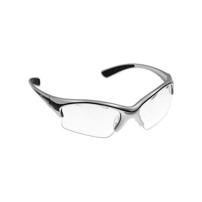 Black Knight Stilleto Silver Eyewear
