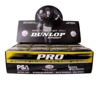 Dunlop Pro (High Altitude) (Green Dot) Squash Ball (Box) (12-Balls) (700117US)