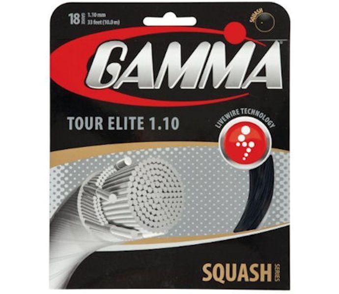 Gamma Sports Tour Elite Squash String Gauge:gamstrTourEli...