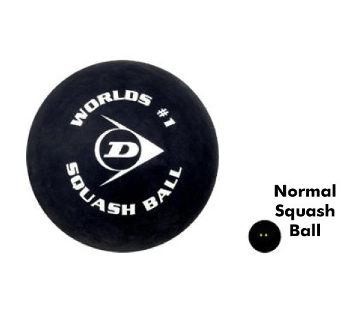 Dunlop Giant Promotional Squash Ball