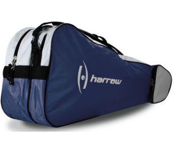Harrow 3 Racquet Bag Navy/White
