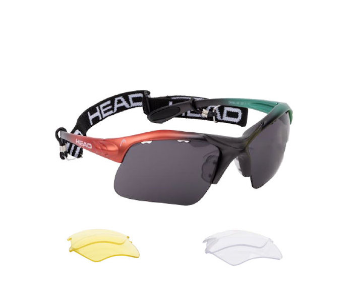 Head Raptor Eyeguards (Smoke/Teal/Lava) (988010)