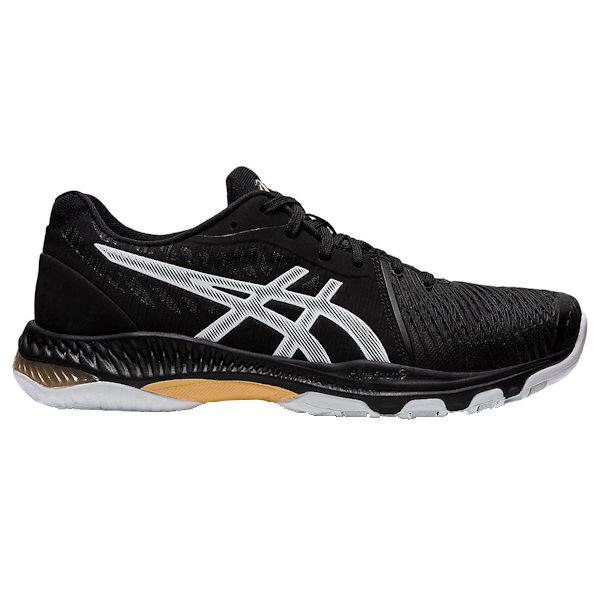ASICS NetBurner Ballistic FF 2 Men's INDOOR Shoe (Black/White) (1051A041.003)