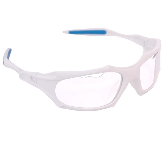 Python Full Frame White w/Clear Lens Eyewear