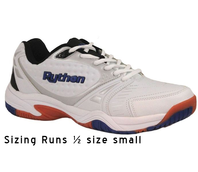 Python Deluxe Indoor Low White Shoe (PY-722L)