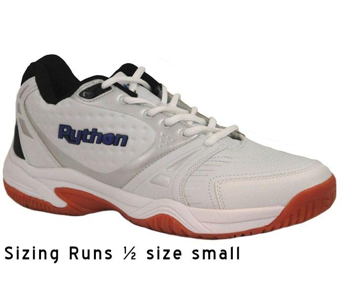 Python Deluxe Indoor Mid White Shoe (PY-722M)