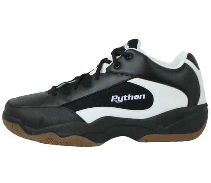 Python Deluxe WIDE (EE WIDTH) Black Shoe