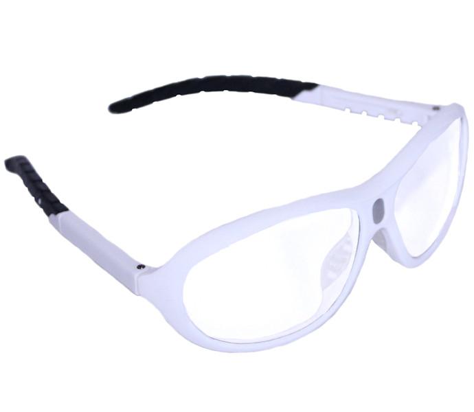 Python White Prescription Adaptable Eyewear