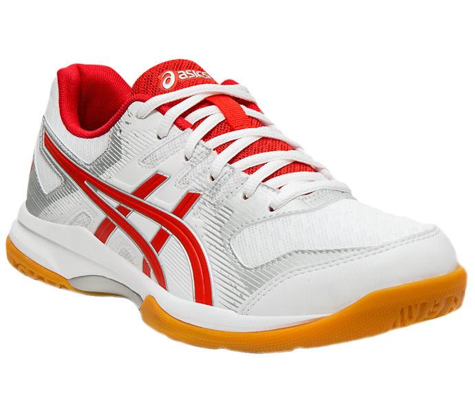 ASICS Rocket 9 Women's Shoe (White/Classic Red) (1072A034.101)