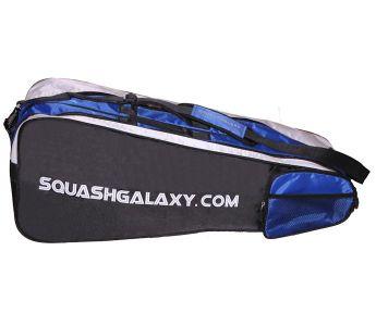 Squash Galaxy 3 Racquet Bag Black Blue