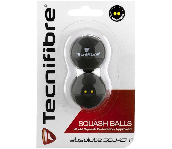 Tecnifibre DYD Squash Ball (2-Pack)