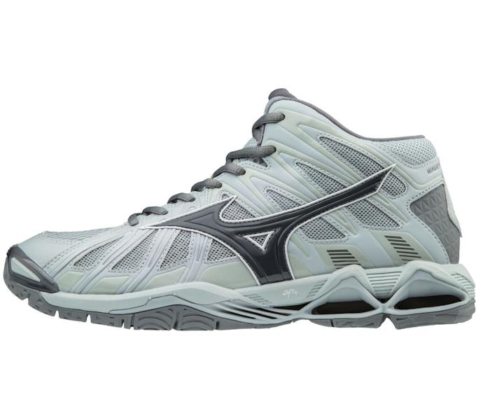 Mizuno Men's Wave Tornado X2 MID Grey Shoe (430233.9191)
