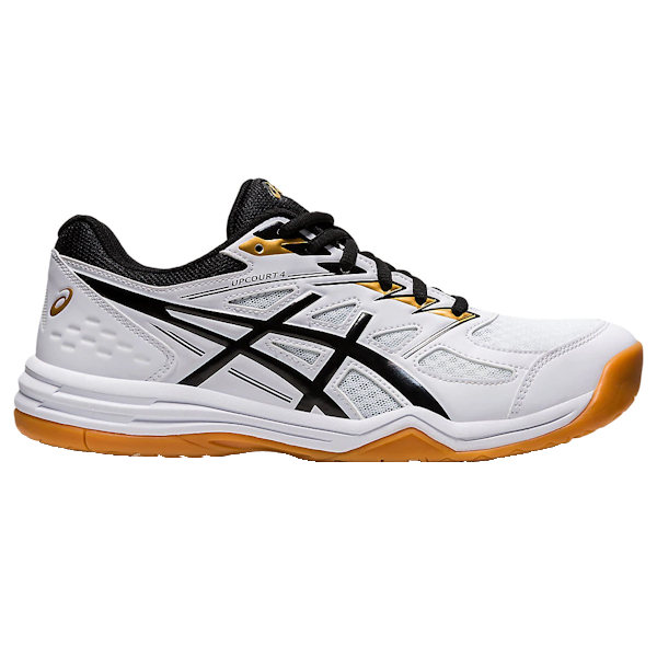 ASICS UpCourt 4 Men's Indoor Shoe (White/Black) (1071A053.102)