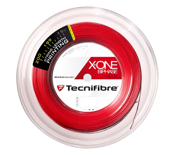 Tecnifibre X-One Biphase 18g Red String Reel